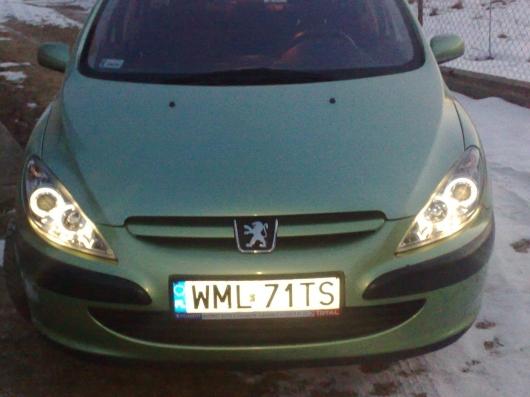 Peugeot 307 Peżocica Wymiana Reflektorów Blog Auta