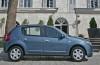 Dacia Sandero - prawy bok
