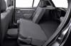 Dacia Sandero - tylna kanapa złożona, widok z boku