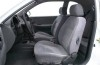 Daewoo Lanos - widok ogólny wnętrza z przodu