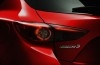 Mazda 3 III hatchback (2014) - lewy tylny reflektor - włączony