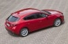 Mazda 3 III hatchback (2014) - widok z góry