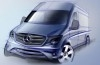 Mercedes Sprinter Facelifting (2014) - szkic auta