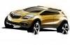 Opel Mokka - szkic auta