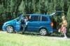 Opel Zafira - lewy bok