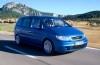 Opel Zafira - widok z przodu