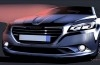 Peugeot 301 - szkic auta