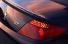 Peugeot 407 Coupe - prawy tylny reflektor - włączony