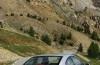 Peugeot 407 Coupe - tył - reflektory włączone