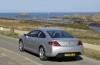 Peugeot 407 Coupe - tył - reflektory wyłączone
