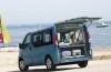 Renault Traffic - tył - bagażnik otwarty
