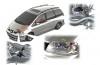 Seat Alhambra - schemat konstrukcyjny auta